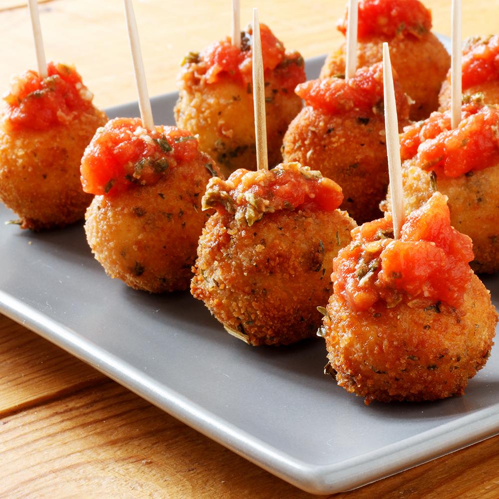 ... , and Food News | Fried Mozzarella Balls with Homemade Tomato Sauce