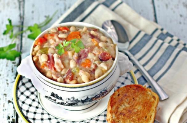 Navy Bean Ham Soup Recipe Food Network