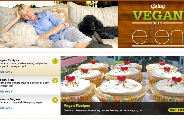 Going Vegan With Ellen