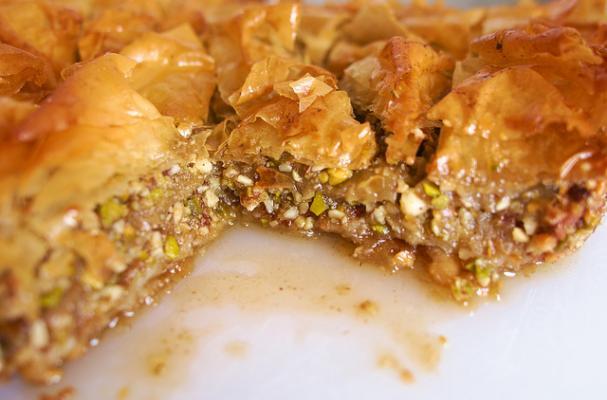 baklava phyllo dessert