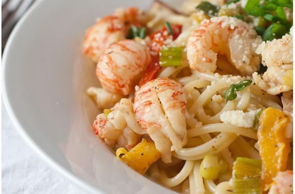 Easy Cajun Lobster Pasta