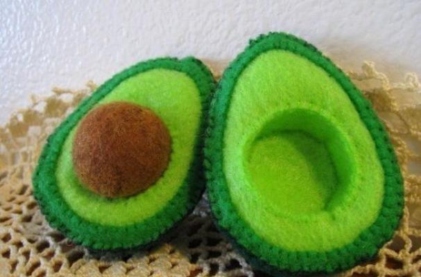 Felted Avocado