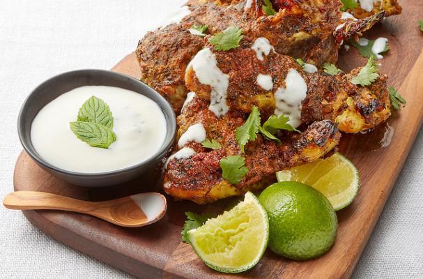 Oven-Baked Tandoori Chicken Wings