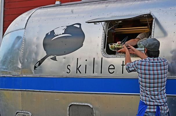 skillet airstream trailer food truck