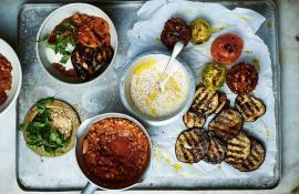 15 Minute Vegan Moussaka Bowls